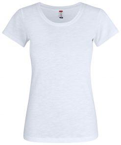Modern T-shirt gemaakt van ringgesponnen slub katoen voor een eigentijdse en eigenzinnige uitstraling. Het T-shirt is zorgvuldig afgewerkt met necktape