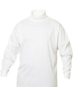 Klassieke coltrui gemaakt van single jersey voor een optimaal draagcomfort. De trui is professioneel afgewerkt met 1x1 rib in de col en onderaan de mouwen. De behandelingen met softener en enzymen zorgen ervoor dat de trui zacht en glad aanvoelt.