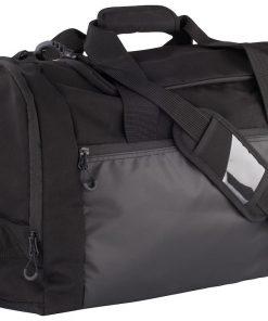 Medium formaat reistas met genoeg ruimte om diverse zaken in op te bergen. De tas is voorzien van diverse zakken en compartimenten voor het overzichtelijk opbergen van je spullen. De tas is uitgerust met een stevige schouderband met een zakje voor bijvoorbeeld een visitekaartje. De hengels zijn gemakkelijk met elkaar te verbinden voor het gemakkelijk dragen van de tas. Afmeting en volume: 53x31x28cm – 46L