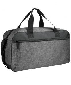 Dit is de perfecte weekendtas. Deze tas heeft een groot compartiment en een voorvak beide afsluitbaar met een SBS ritssluiting. Wordt geleverd met stevige handvatten en een vestelbare schouderband.Afmetingen en volume: 48x22x26cm - 24 Liter