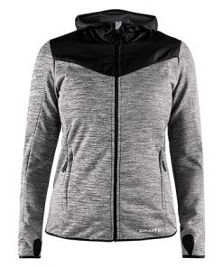 Craft Breakaway jersey jacket II wmn grey melange xxl